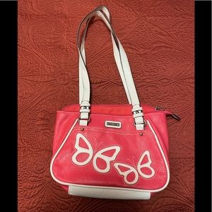 Rossetti pink purse with butterflies